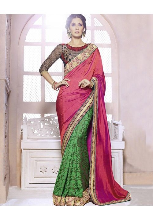 #Awesome Collection By KVSFAB #Beautifully Design #Sari
