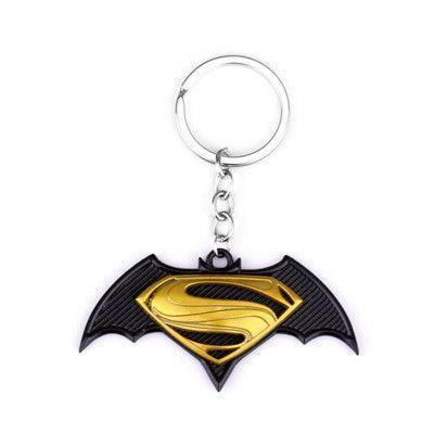 DC Comics Superhero Superman Design Logo Alloy Key Chains Keychain Keyring