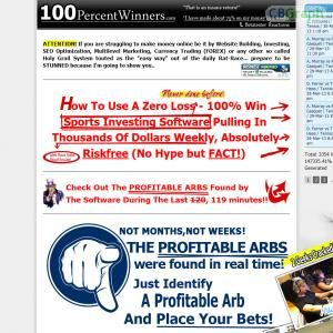100 percent winners sports betting software downloads betting on melbourne cup day trading