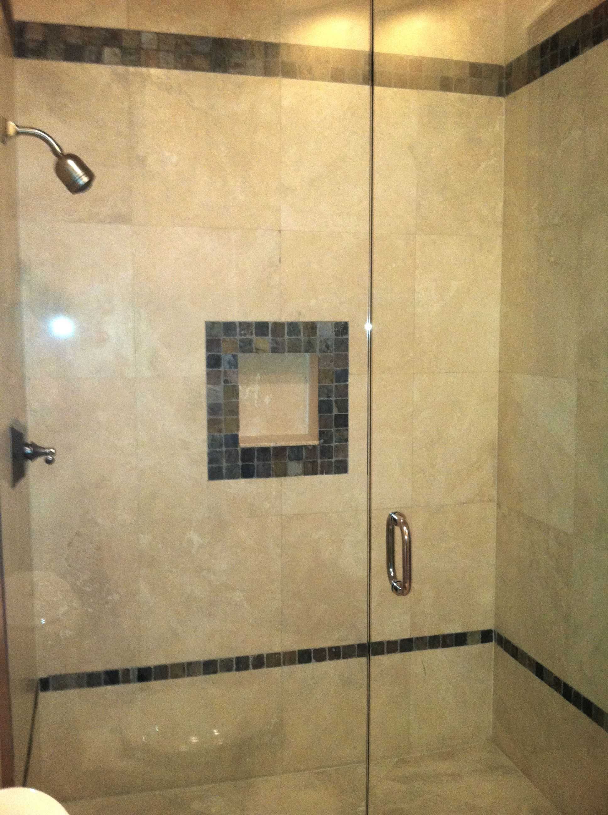 Shower Tile | Joy Interiors/Parkland Home | Pinterest | Bathroom ...