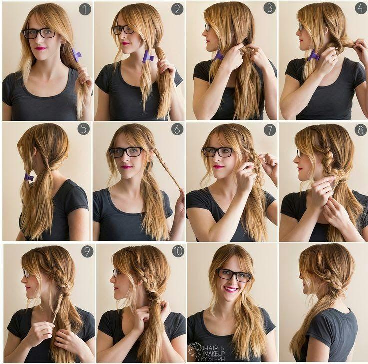 Easy Ponytail Hairstyles Step By Step Hair Styles Ponytail Hairstyles Easy Easy Hairstyles