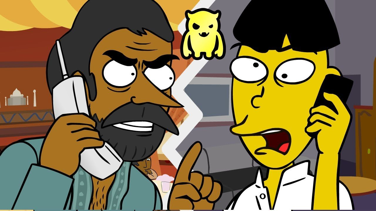Crazy Indian Restaurant Rage Prank (animated) - Ownage Pranks HILARIOUS!  (Contains Mature Content!)