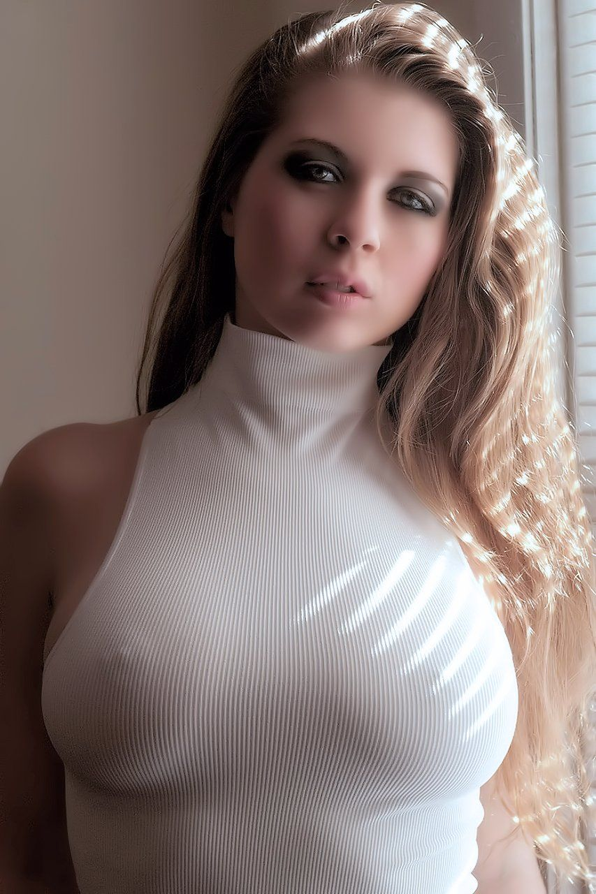 Tight shirts big tits