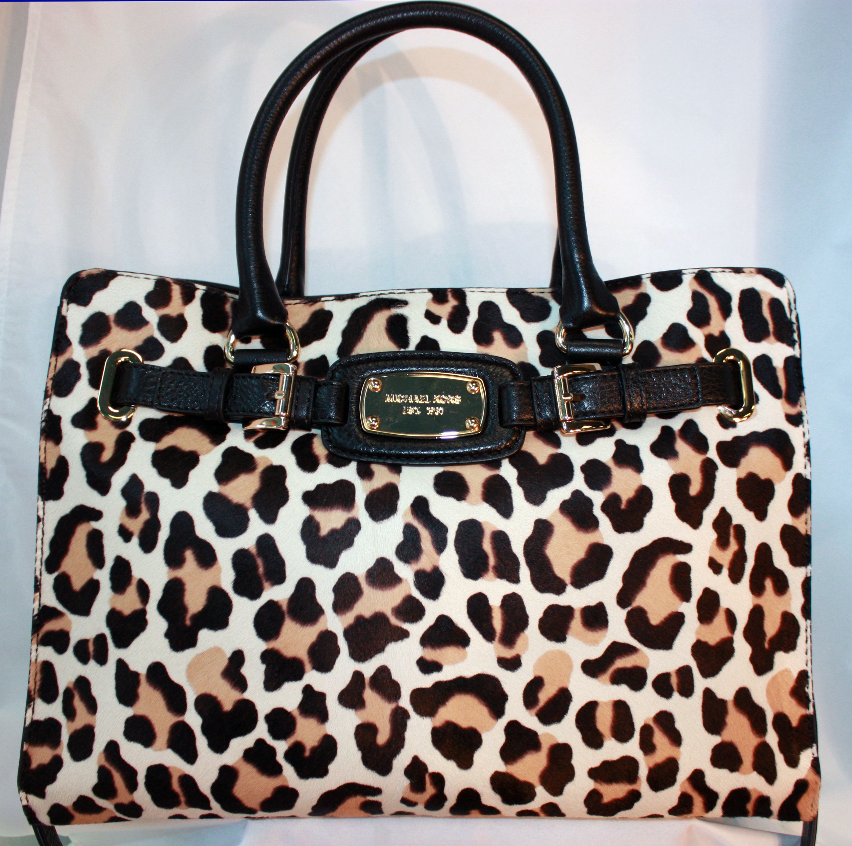 Michael Kors Hamilton - This is a beautiful bag with the leopard design that will never go out of style.