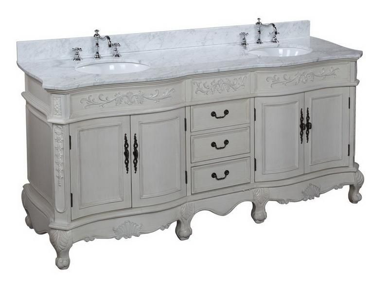 Provincial French Country Bathroom Vanity  Bathrooms  Country bathroom vanities French
