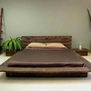More Japanese Inspired Bedroom Furniture Platform Bed Designs
