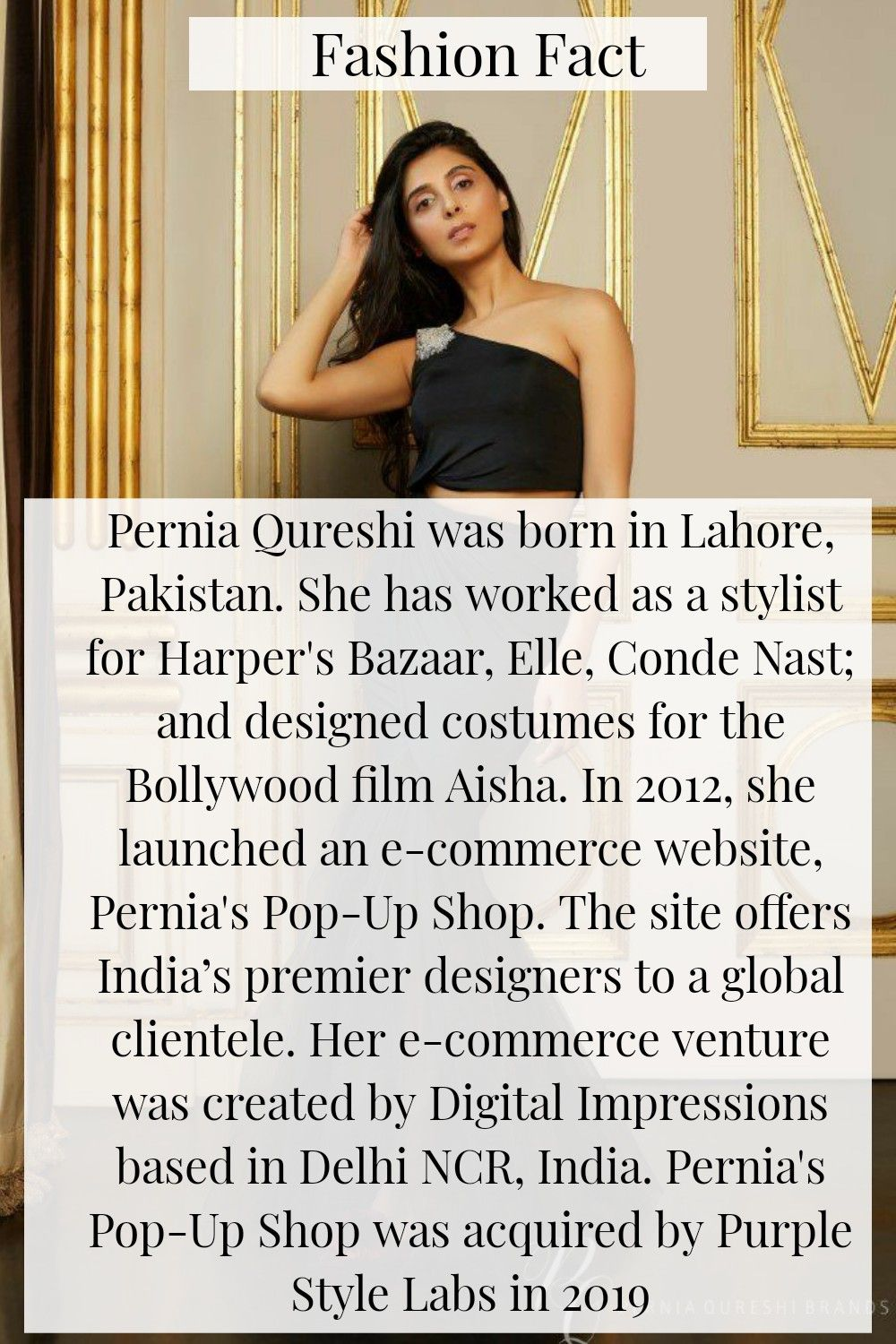 Fashion Fact Of The Day! #perniaqureshi #FactCheck #Fact #Facts #FactsMatter #FactsAreFriendly #FactsAboutMe #FactsNotFear #factsonly  #ThursdayThoughts #ThursdayMotivation #thursdaymorning #thursdayvibes #iknockfashion #elloracreationspvtltd