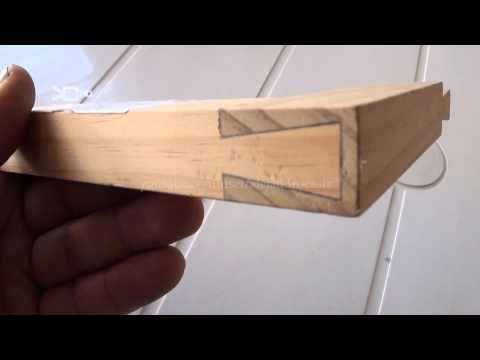 Como hacer un cuadro de madera carpinteria paso a paso - Trabajos manuales en madera ...
