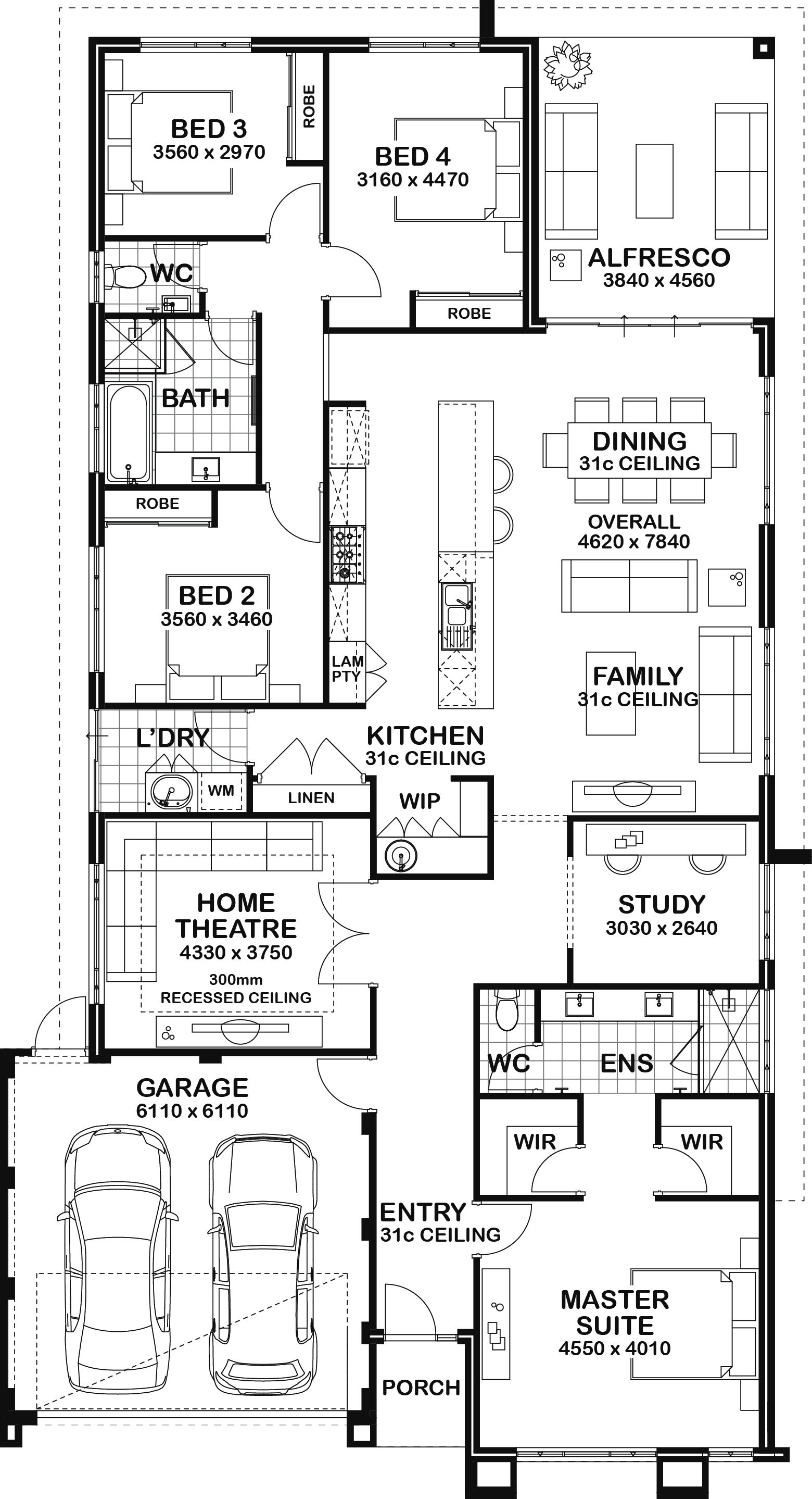 Display Homes in Perth Home design floor plans, House