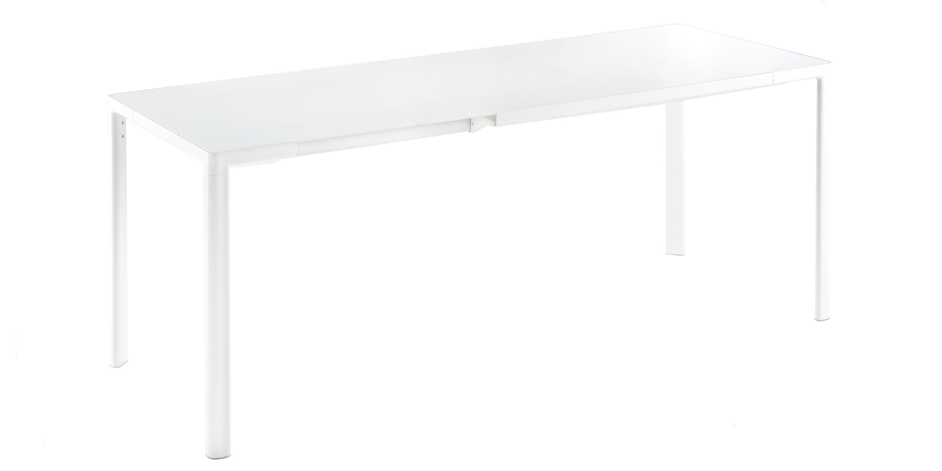 White Extension Dining Table Kartell Zooom Extension Dining Table By Piero Lissoni The