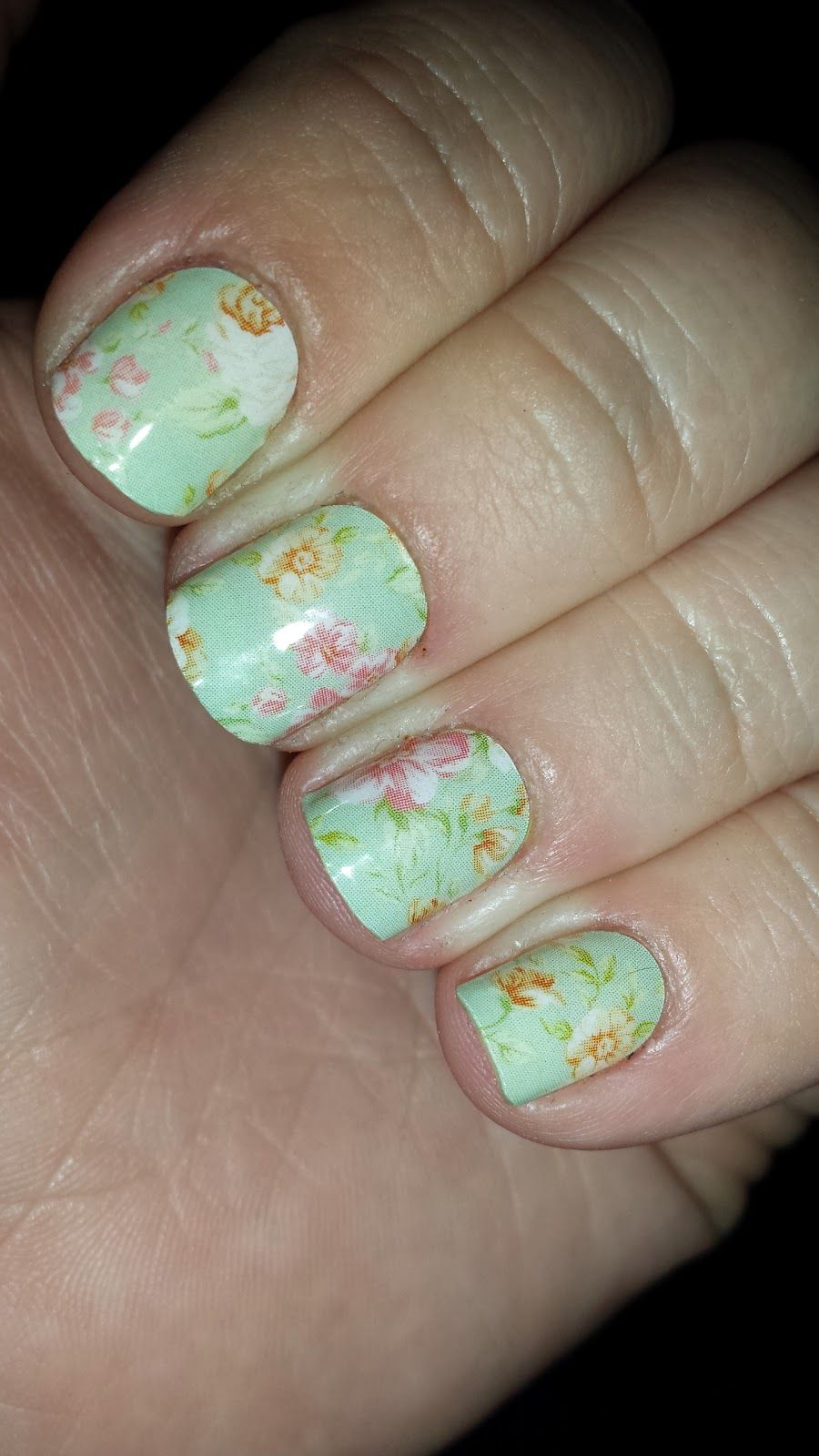 jamberry nails vintage chic audreymjamberryn more