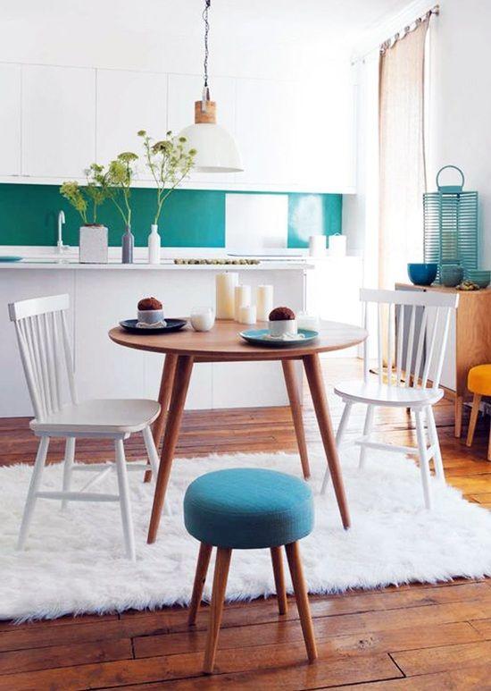 Expertos en mesas de madera maciza a medida para comedor o cocina fustalia carpinteros de - Mesa de cocina redonda ...