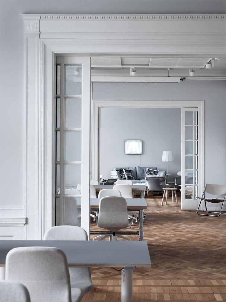 Ikea S Swedish Office Is Full Of Decor Inspiration Domino Interior Interior Design Work Space Decor
