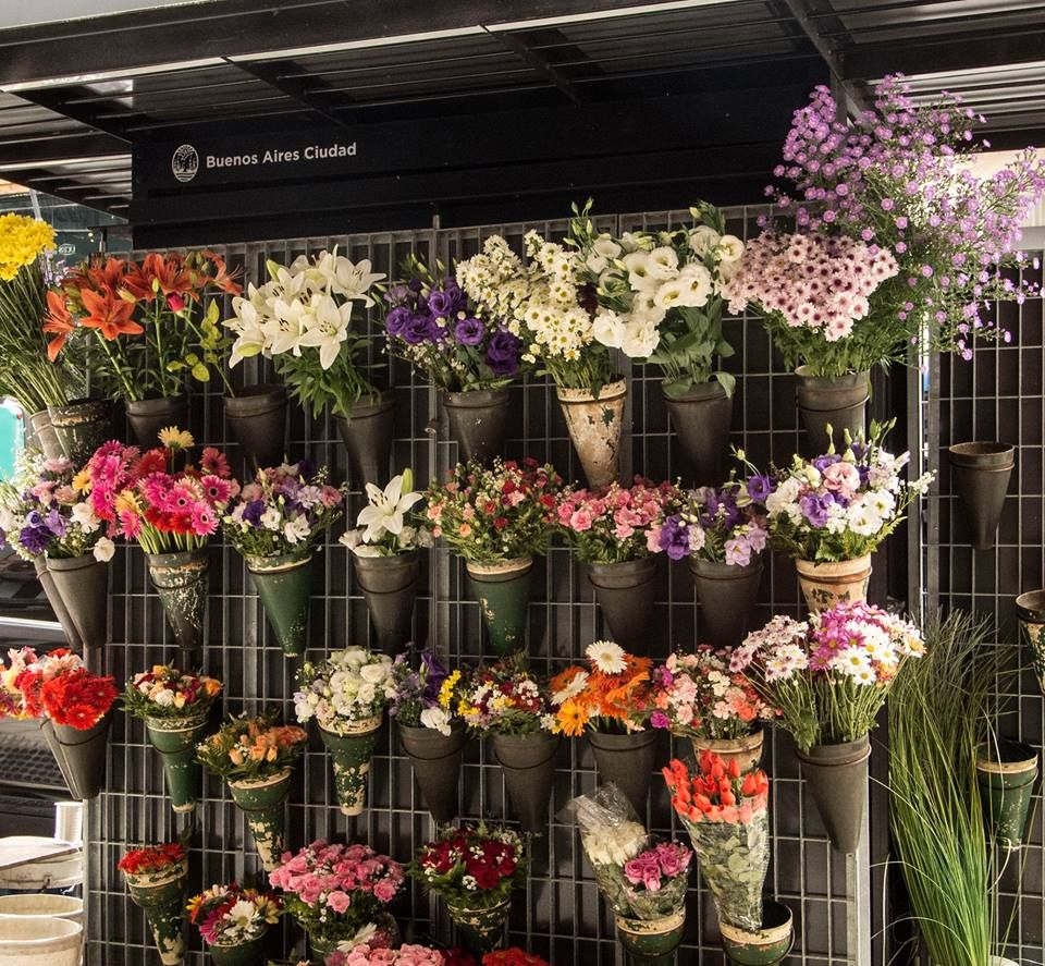 R Puesto de flores de la ciudad de Buenos Aires