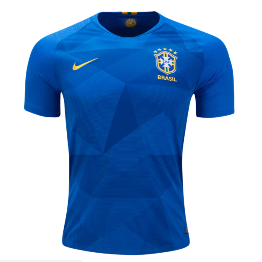 9a1d4eeb6 Brazil 2018 World Cup Away Men Soccer Jersey Personalized Name and Number -  zorrojersey