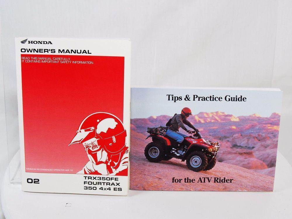 honda trx350fe fourtrax atv 350 4x4 es owners manual practice rh pinterest com Tips Practice Sticks Stcks Practice Tips