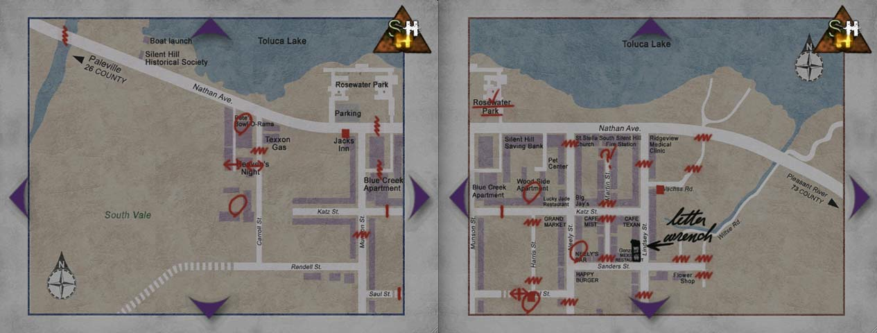 Silent Hill 2 Dbd Chapter Concept Part 3 Map And Map Variations