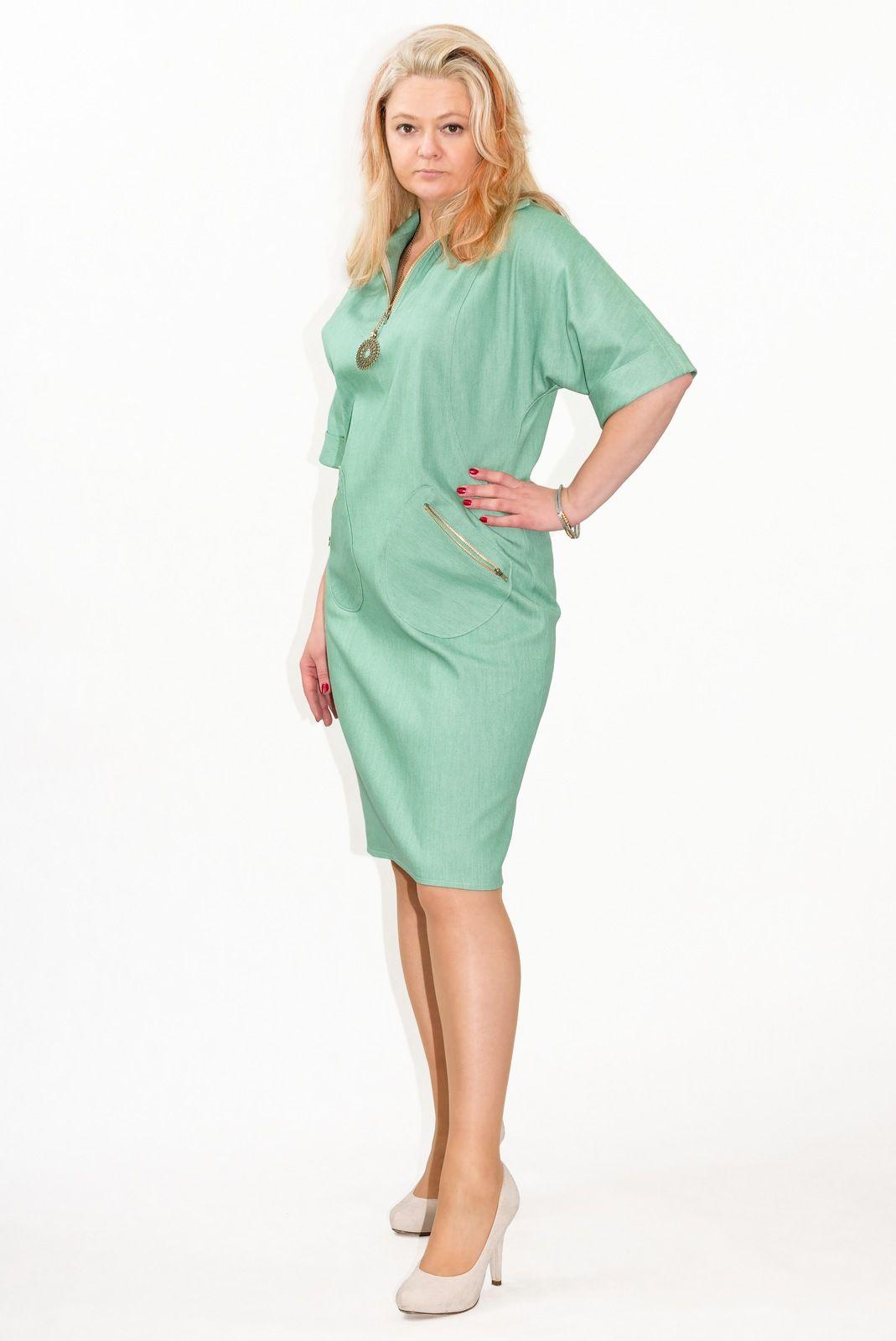 ff749fd045  elegancka  sukienka  xxl  plus  size Larissa2  duże  rozmiary 38 - 52   XELKA  sklep  internetowy  online