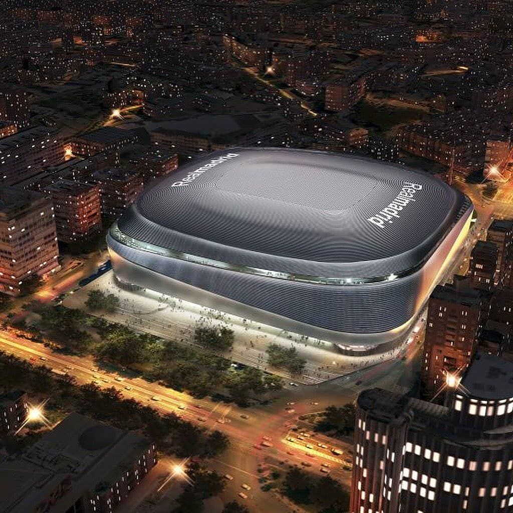 Architect On Instagram Real Madrid S Bernabeu Stadium Redevelopment Project By L35architects Gmp Architekten And Ribasarchitec Real Madrid Madrid Santiago