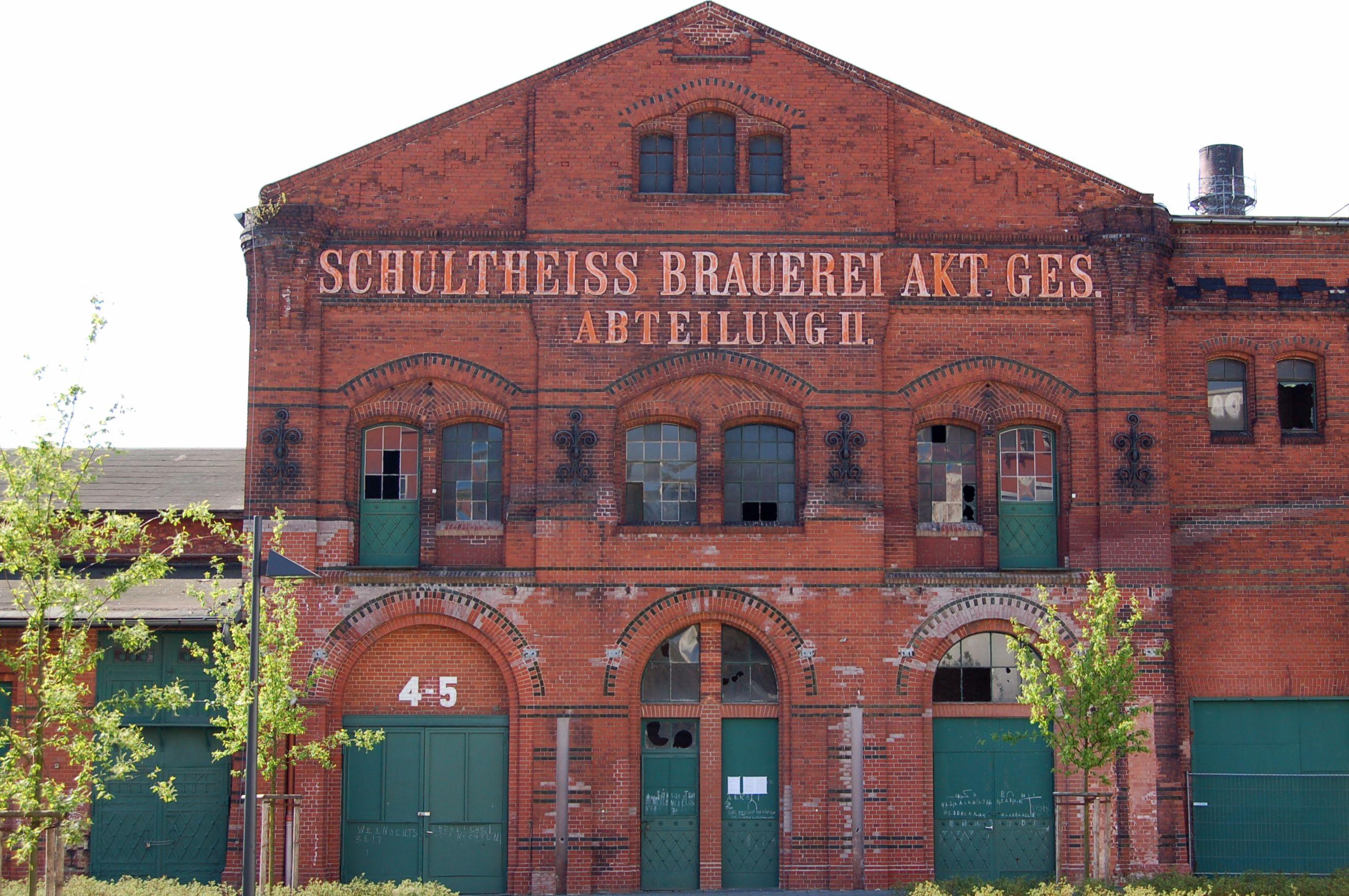 Abteilung Ii Ehemalige Schultheiss Brauerei Berlin Kreuzberg