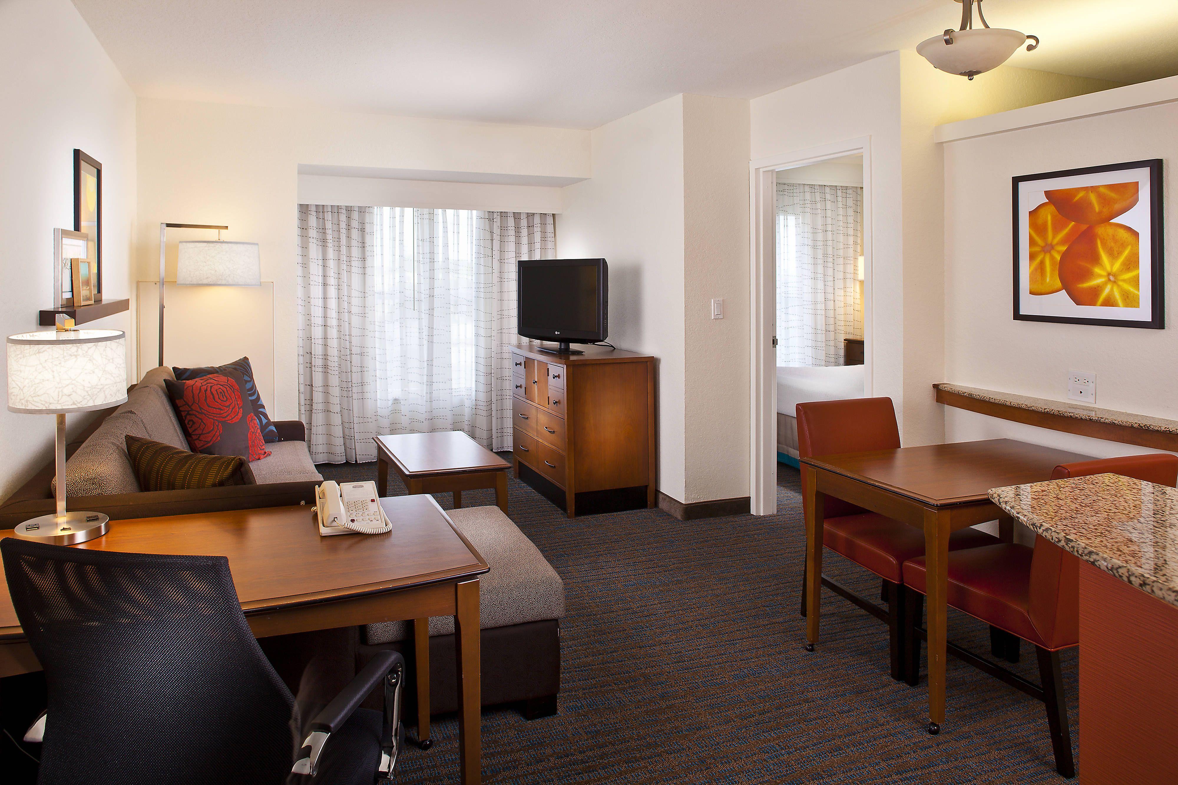 Residence Inn Daytona Beach Speedway Airport One Bedroom King Suite With Images Daytona Beach Hotels Daytona Beach Residences