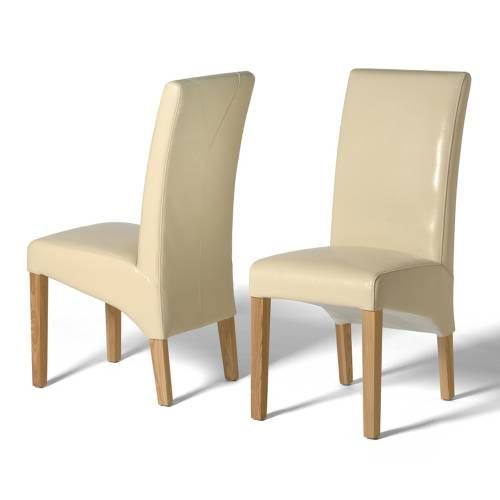 Leather Dining Chairs Olivia Cream Leather Dining Chair X2 Well Cool Beige Leather Dining Room Chairs Design Decoration