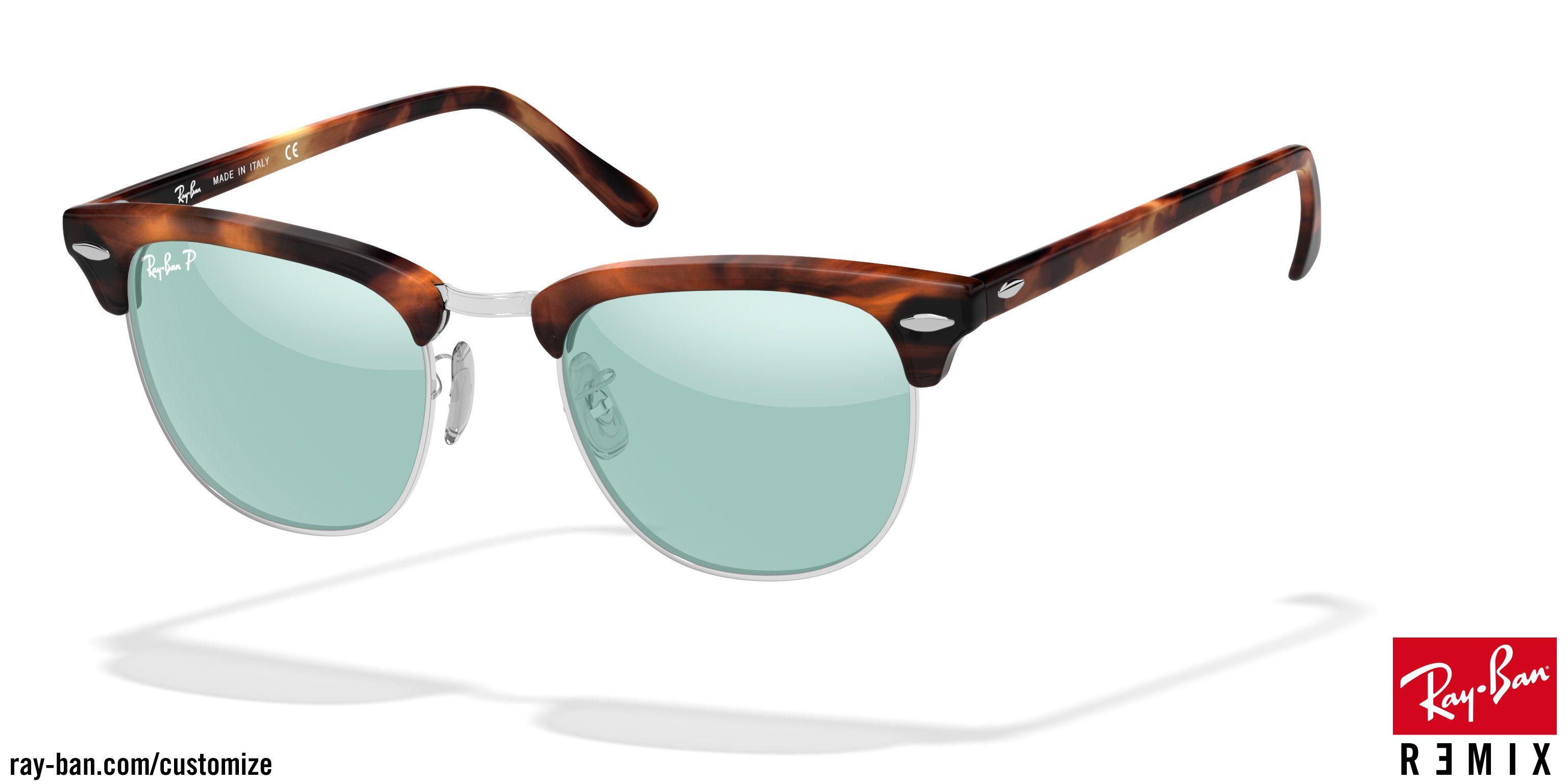d8e33763ac official sunglasses thurmont tortoiseshell tortoiseshell brown custom ray  ban clubmaster classic rb3016 with matte tortoise shell