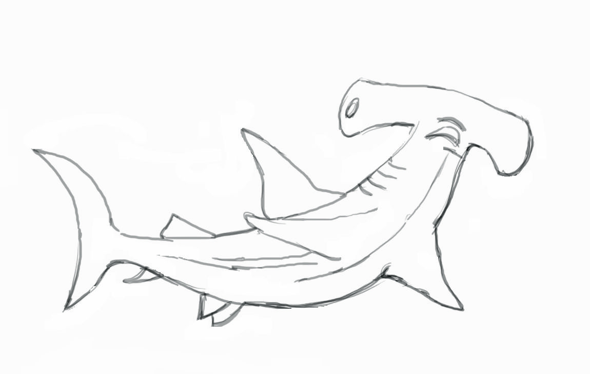 shark - Google Search | Line Drawings for Literacy | Pinterest