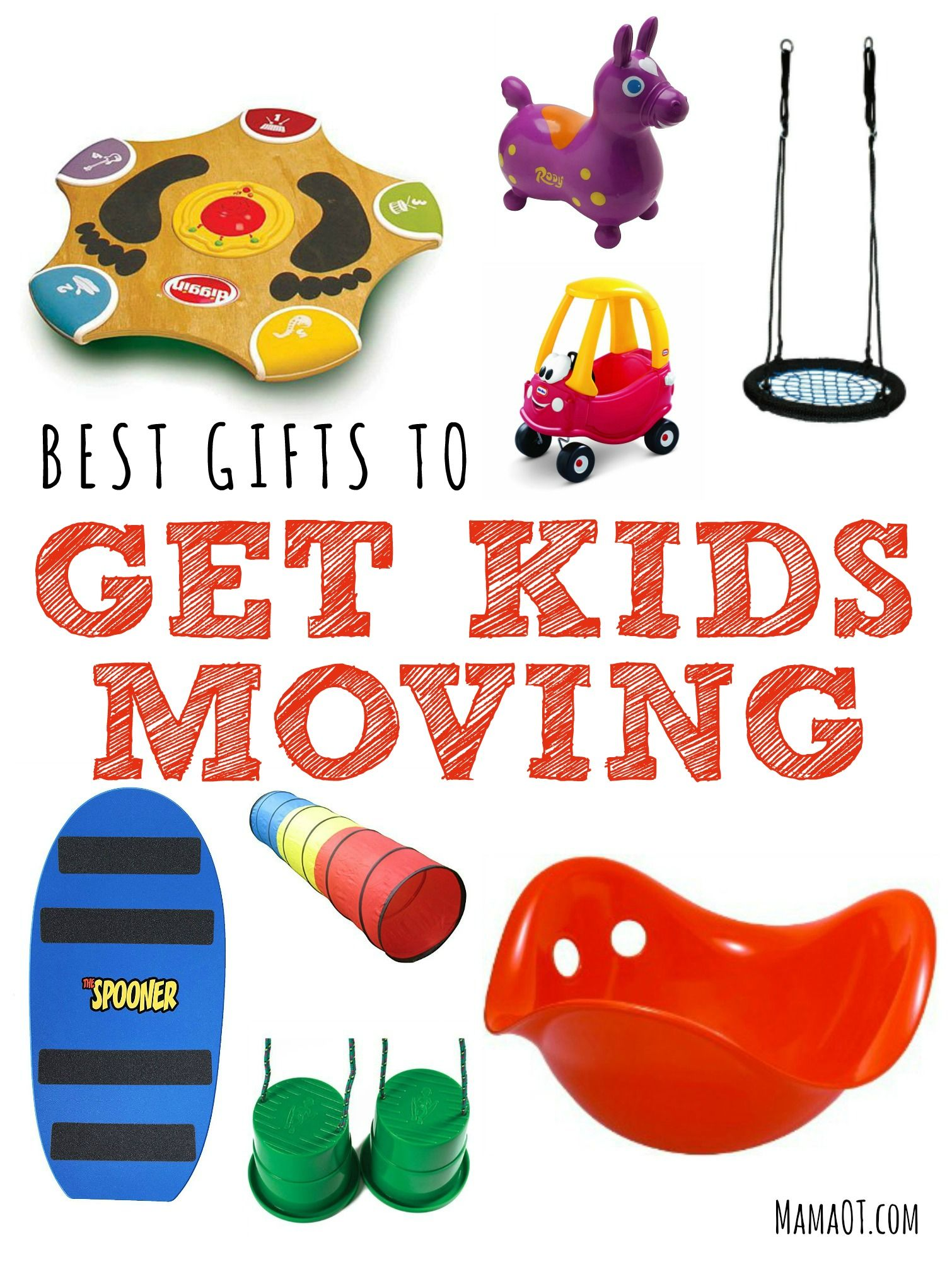 Looking for a toy to help keep the kid s in your life active