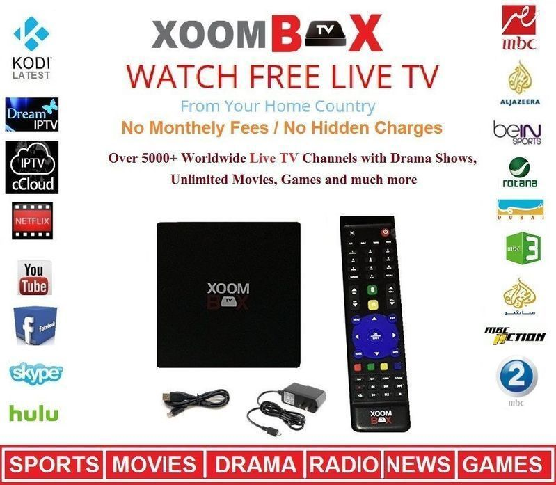 Xoomtvbox Super Arabic Iptv Box Mbc Bein Sports Over 750 Live Arabic Channels Latest News And Updates Bein Sports Channel Tv Channels