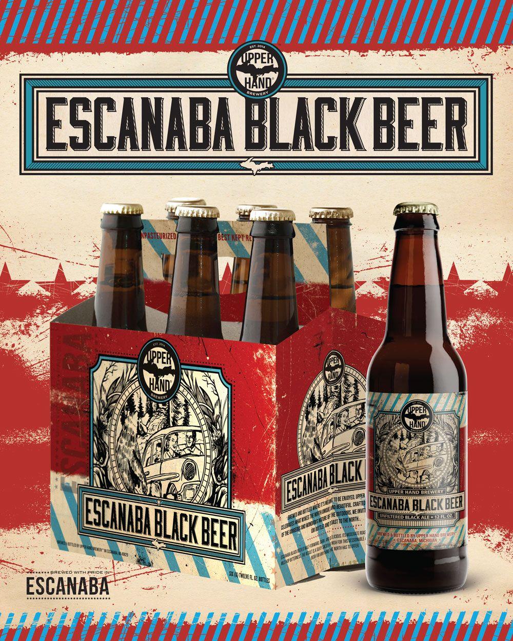 Image 1 Black Beer Brewery Design Beer Poster