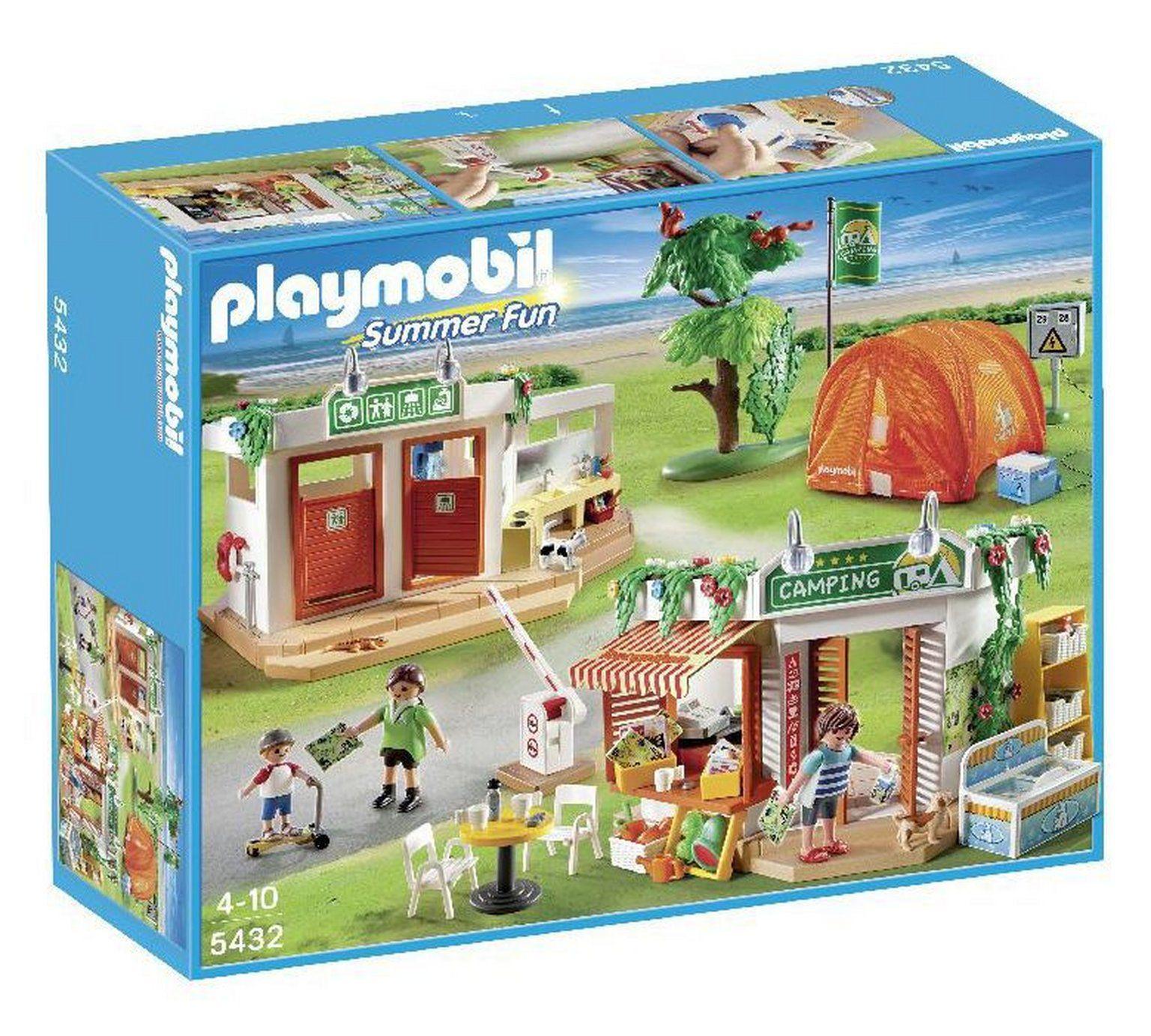 Playmobil 5432 Summer Fun Camp Site At Argos Co Uk Visit