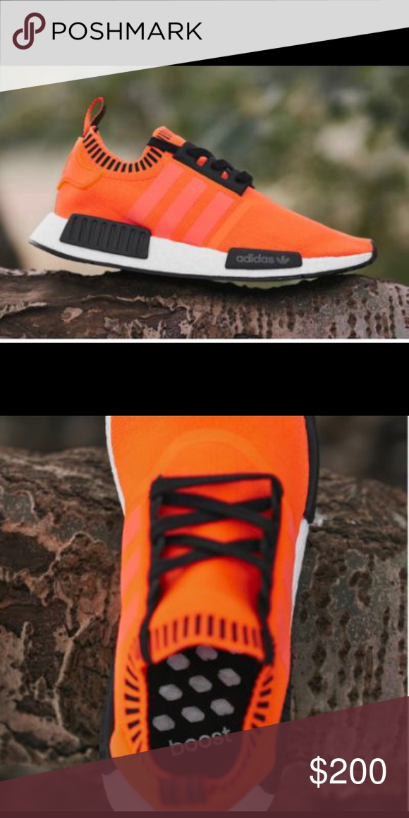 4d734f42e0207 Brand New - Adidas NMD R1 Orange Noise Selling brand new never worn Adidas  NMD R1