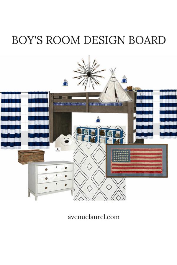 a coastal boys room is getting a patriotic revamp bedroom decor rh pinterest com