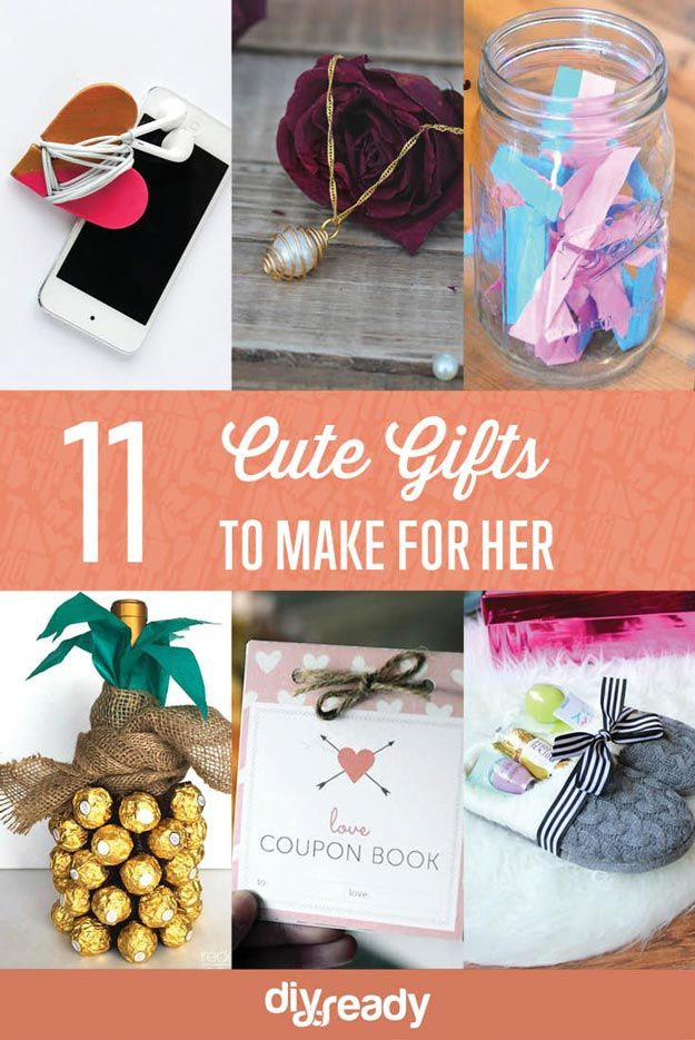 Cute Gifts To Make For Her