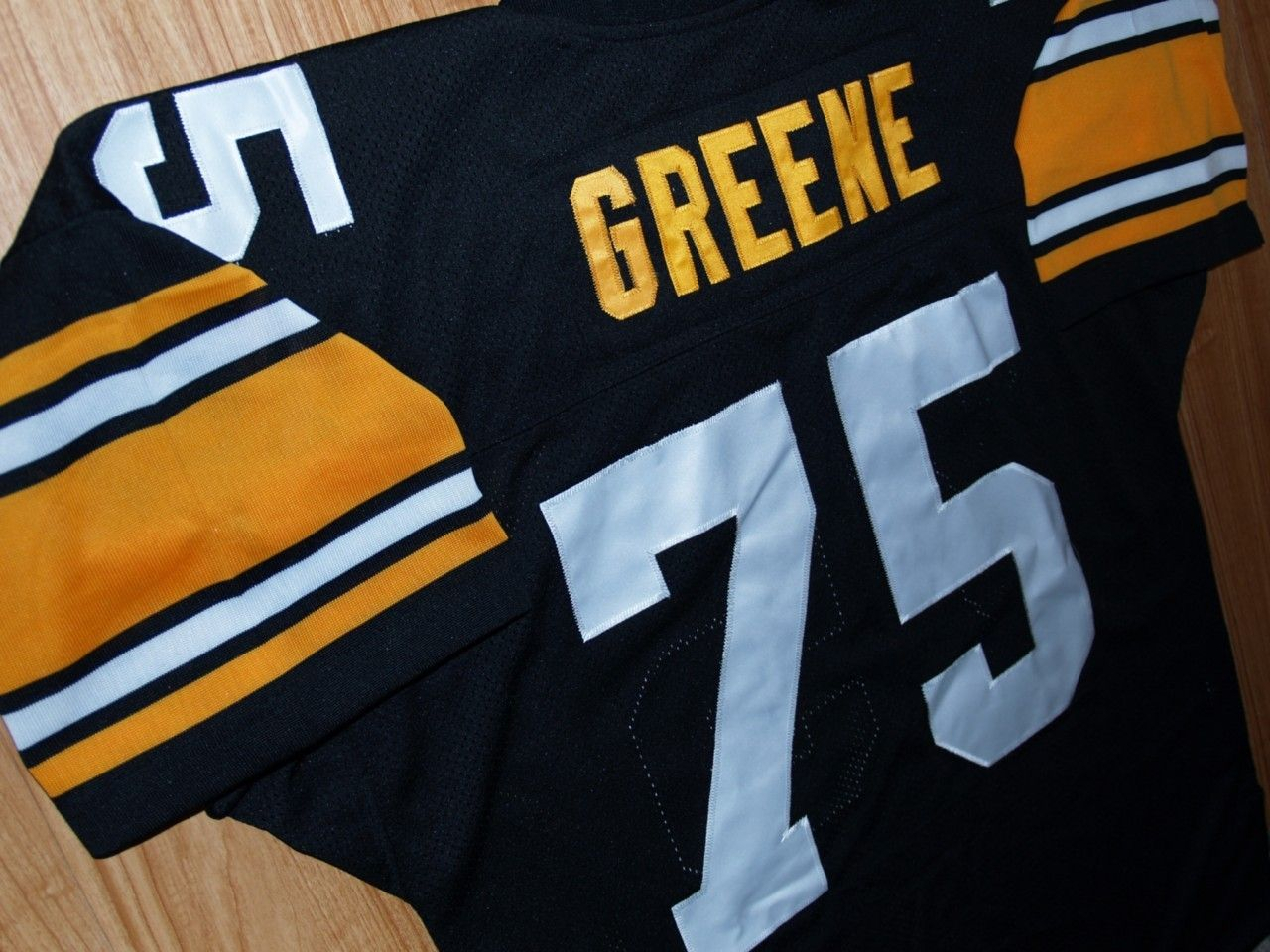 f38e1c9c0 Mean Joe Greene Steelers Throwback Jersey Size 56 3XL New