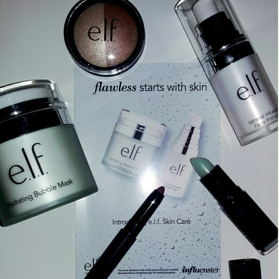 Elf cosmetics sent complimentary from Influenster for