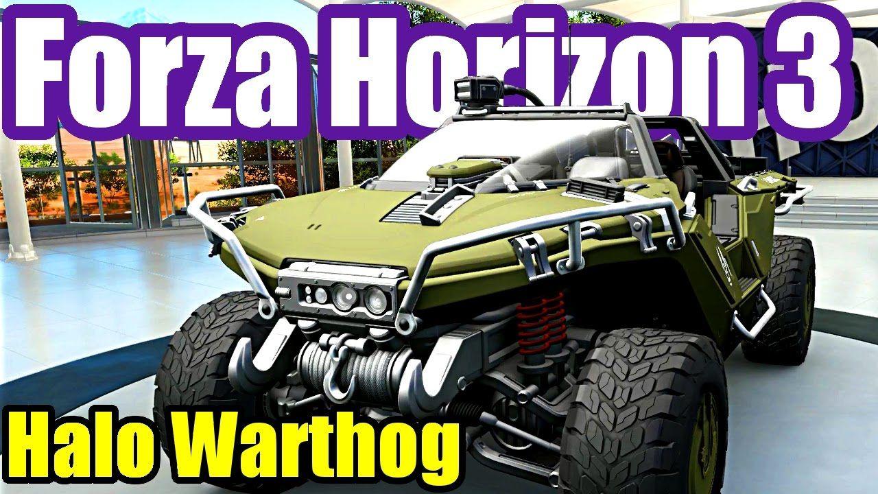Halo Warthog Car & Barn Find - FORZA HORIZON 3 Wheel