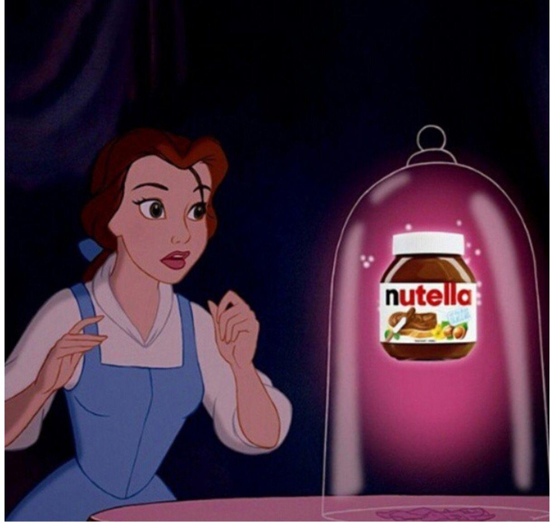 Y La Dieta Memes Princesas Disney Bella Gorda Nutella Disney Princess Funny Disney Funny Disney Memes