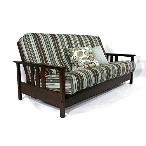queen size futon frame diy strata durango wall hugger futon frame dark cherry storequeen size cherry ev mobilya ve