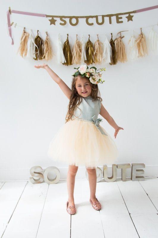 Bruiloft Jurk Meisje.Jurk Van So Cute Bruidsmeisje Bruidsmeisjesjurk Communiejurk