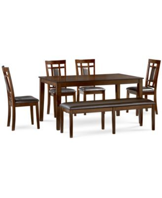 Delran 6-Piece Dining Room Furniture Set, Only at Macy's ...
