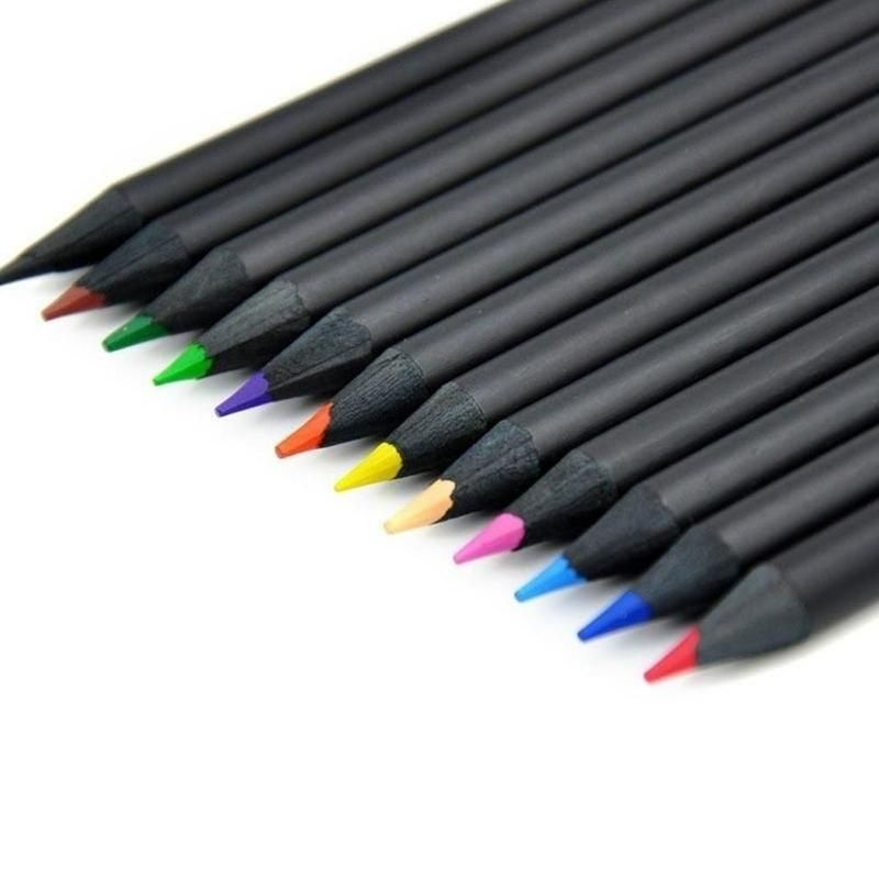 Charcoal Pencil 12Pcs Colorful Sketch Drawing For Artist Sketching Drawing Set