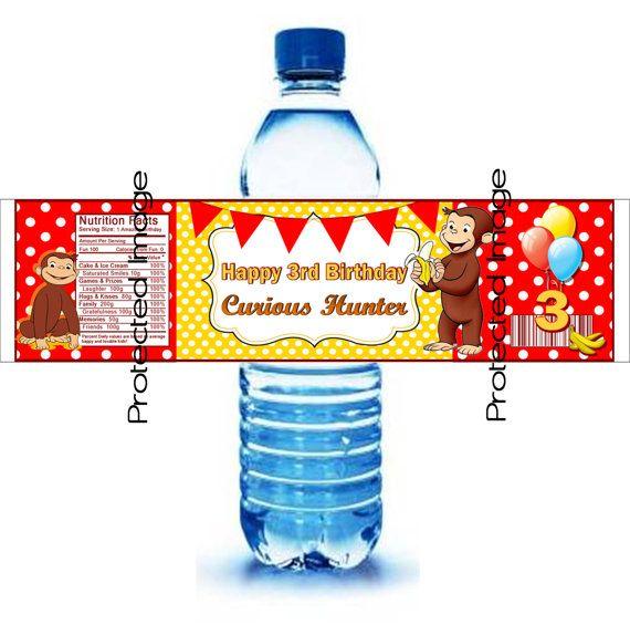 30 Qty. Custom Water Bottle Labels Aka Wraps
