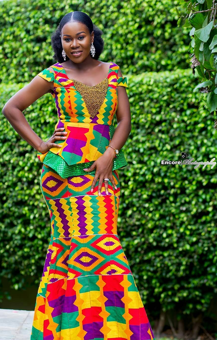 Kente Fashion Dress African Fashion Designers Kente Styles African Attire