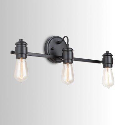 Longshore Tides Jovan 3 Light Vanity Light Finish Matte Black In 2020 Modern Vanity Lighting Vanity Lighting Bathroom Vanity Lighting