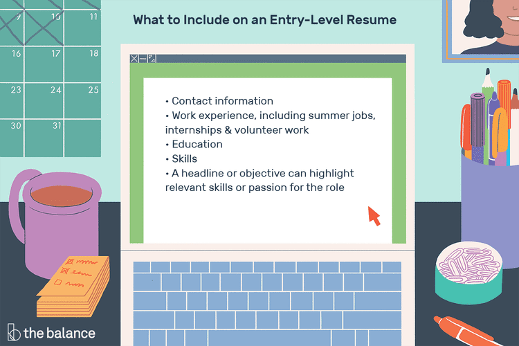 How To Write A Great Resume For An Entry Level Job Resume Writing Services Job Resume Format Resume Examples