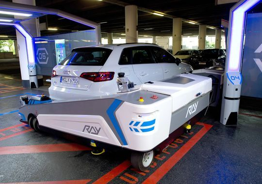 Newest airport perk Robot valets to park your car