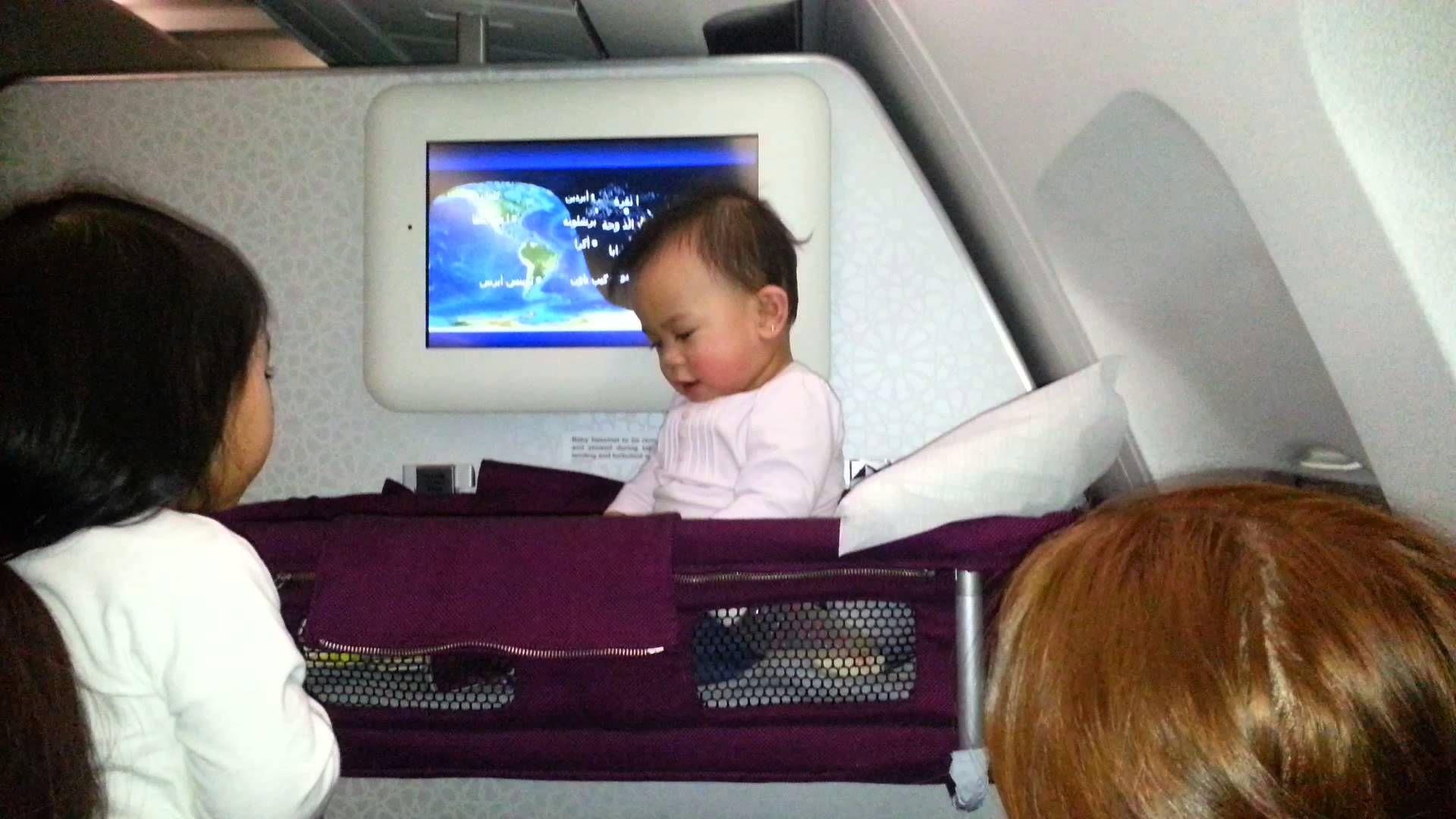 Qatar Airways Bassinet Bedside Bassinet Halo Bassinet