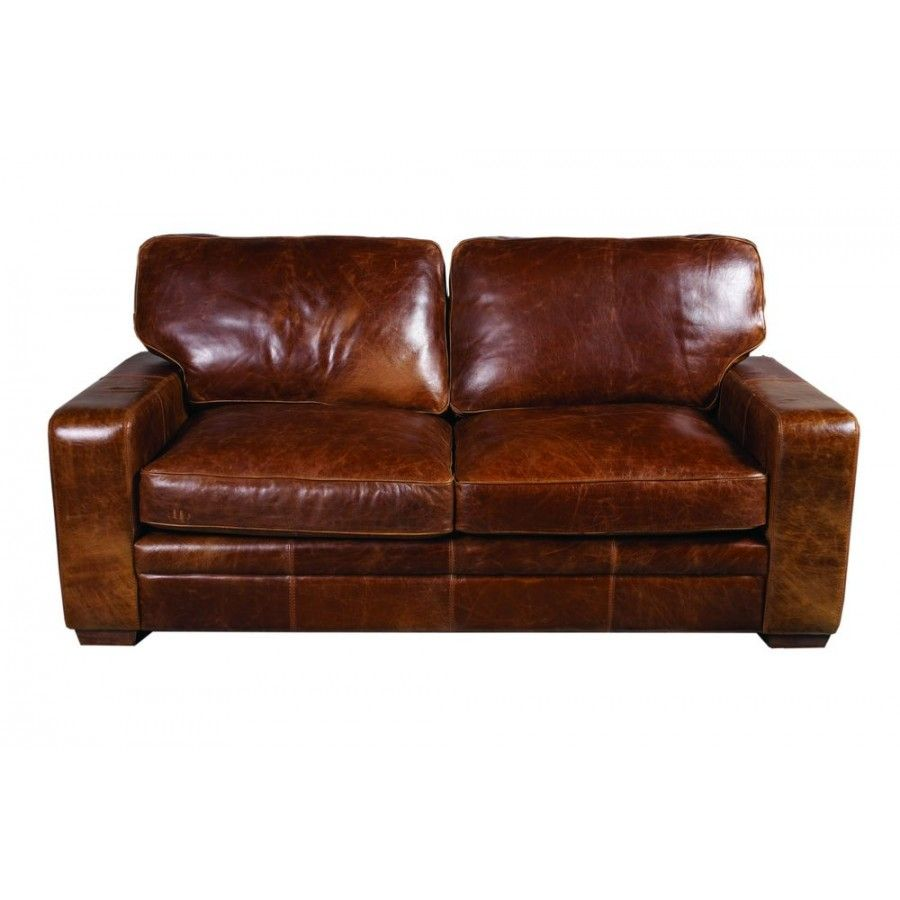 Ordinaire Miami Italian Leather 3 Seater Sofa